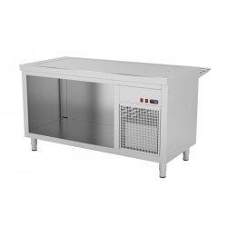 Mueble autoservicio self service con placa fría GN