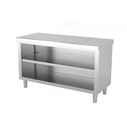 Mueble neutro central abierto por 1 cara. Fondo 600