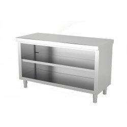 Mueble neutro central abierto por 1 cara. Fondo 700