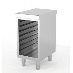 Mueble neutro central con guías 600x400 mm
