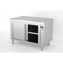 Mueble central caliente con puertas correderas - Fondo 700