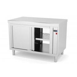 Mueble central caliente con puertas correderas pasantes - Fondo 600