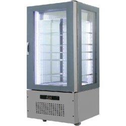 Armario de cristal refrigerado 820x660x1620 SFL7-2