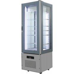 Armario de cristal refrigerado 620x660x1960 SFL6-3