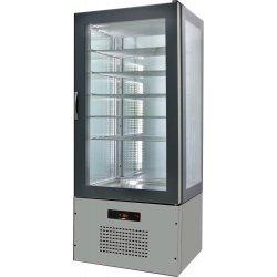 Armario de cristal refrigerado 820x660x1960 SFL8-3
