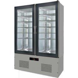 Armario de cristal refrigerado 1250x660x1960 SFL12-1