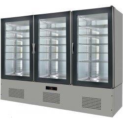 Armario de cristal refrigerado 2460x660x1960 SFL25-1
