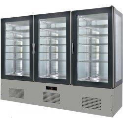Armario de cristal refrigerado 2460x660x1960 SFL25-4