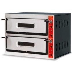 Horno eléctrico de 2+2 pizzas 60x40 T22