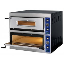 Horno 4+4 pizzas de 33cm Ø E-START 44