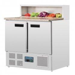 Mesa fría para pizza compacta 288 litros Polar