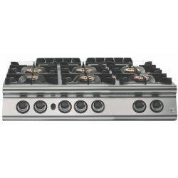 Cocina a gas 6 fuegos Fondo 900 Sobremesa Emotion
