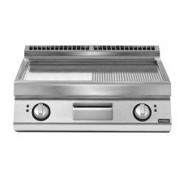 Plancha eléctrica mixta de sobremesa PK 70/80 FTRES-T
