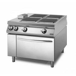 Cocina eléctrica Con horno eléctrico 4 fuegos cuadrados Fondo 1100 Sensation