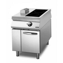 Cocina vitrocerámica sobre base con puerta 2 zonas de cocción Fondo 1100 Sensation