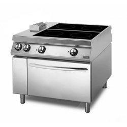 Cocina vitrocerámica Con horno eléctrico 4 zonas de cocción Fondo 1100 Sensation