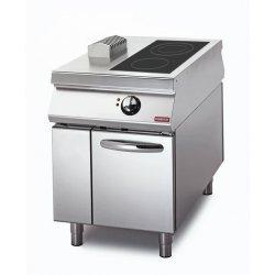 Cocina a inducción de 2 fuegos sobre base con puerta Fondo 1100 Sensation