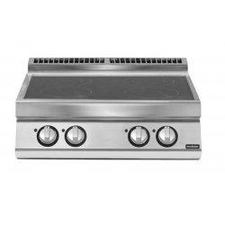 Cocina inducción de sobremesa 4 zonas de cocción Ø 220 Fondo 700 Pratika