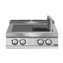 Cocina eléctrica con 4 planchas basculantes de sobremesa Fondo 900 Pratika