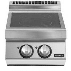 Cocinas vitrocerámicas de sobremesa 2 zonas de cocción Fondo 900 Pratika