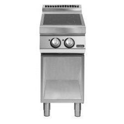 Cocina vitrocerámicas de base abierta 2 zonas de cocción Fondo 900 Pratika