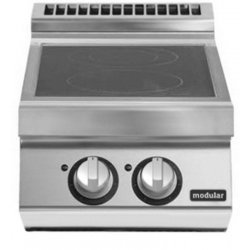 Cocina a inducción de sobremesa 2 zonas de cocción Fondo 900 Pratika