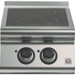 Cocinas vitrocerámica de sobremesa 2 zonas de cocción Fondo 700 Emotion