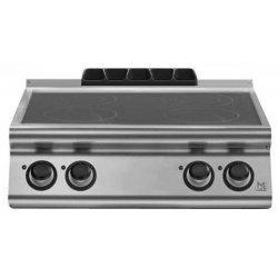 Cocina vitrocerámica de sobremesa 4 zonas de cocción Fondo 700 Emotion