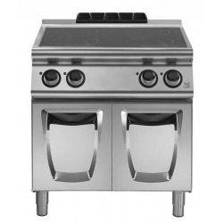 Cocina vitrocerámica sobre base con puertas 4 zonas de cocción Fondo 700 Emotion