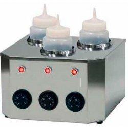Calentador de biberones de 3 botellas