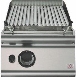 Barbacoa de piedra lávica a gas de sobremesa 9,5 Kw Fondo 900 Emotion