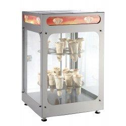 Expositor caliente para conos de pizza 32 conos