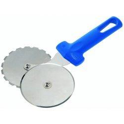 Cortador de pizza de doble rueda para cortar y marcar