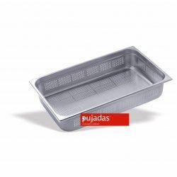 Cubeta perforada Pujadas GN 1/1 de alta calidad europea