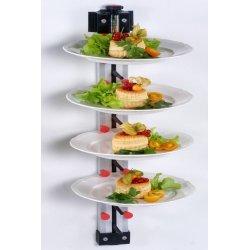 Porta platos de pared para 9 platos