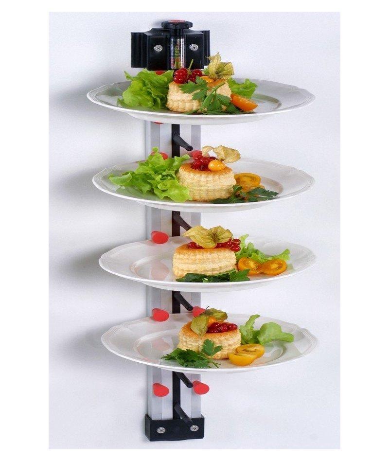 Porta platos de pared para hostelería Plate Mate de 9 platos