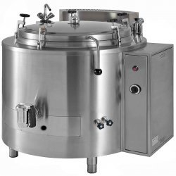 Marmita a presión con autoclave de gas directa 480 Litros PNGD-500A