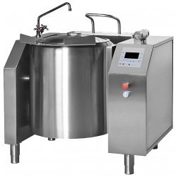 Sartén eléctrica basculante con mezclador circular de 30 Litros BMT30-250ºC