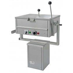 Sartén eléctrica rectangular MNN-1 con basculación manual