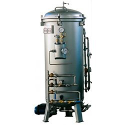 Esterilizador vertical autoclave a vapor de 250 litros