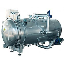 Esterilizador horizontal autoclave a vapor de gran capacidad de 1500 litros