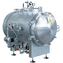 Esterilizador horizontal autoclave a vapor de 485 litros
