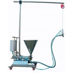 Dosificadora llenadora volumetrica de suelo con erogación móvil
