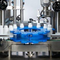 Máquina automática para el llenado y tapado de pesticidas líquidos