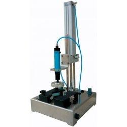 Cerradora de tapas a presión semiautomática