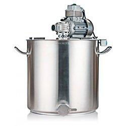 Marmita de coccion con mezclador y rascador Practic Mar 50 Lt