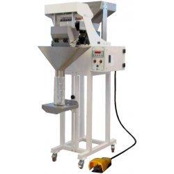 Dosificadora pesadora semiautomática hasta 3 cm