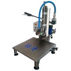 Llenadora semi-manual BB12 con bomba ENOS 20 inox