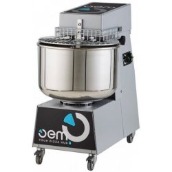 Amasadora OEM RBID402T para masa de gran humedad de cabezal elevable 47 Lt