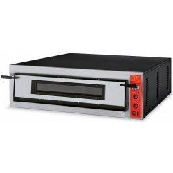 Horno 6 pizzas de 36cm Ø FR108-6 Cámara totalmente en piedra refractaria
